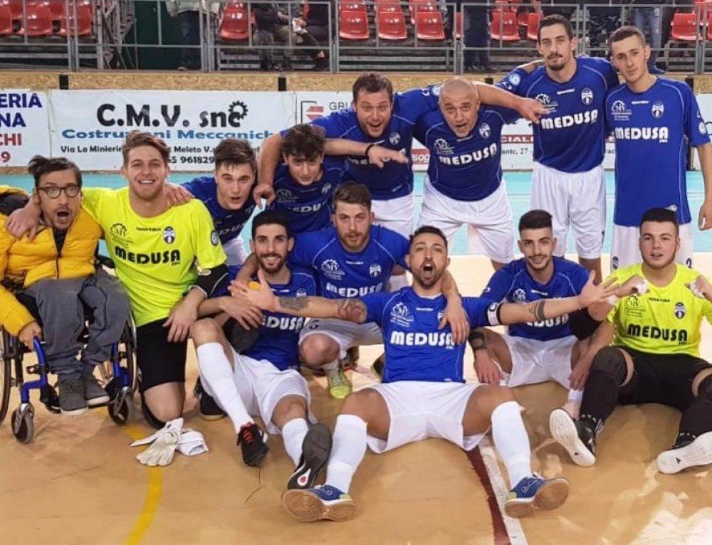 GRAZIE LO STESSO – La Futsal dice addio alla A. Ma resta una stagione da incorniciare