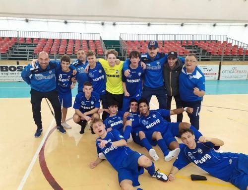 SPAZIO FUTSAL – Che forza l'Under 19 ! Grosseto al tappeto e titolo di campioni d'inverno