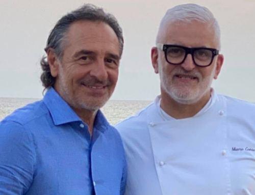 """E' tempo di Vip a """"La Valletta"""" di Mauro Consolati. Ieri la gradita visita di mister Cesare Prandelli"""